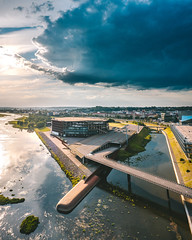 Cloud | Kaunas aerial