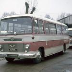J A Dickson . Stoke Manderville , Buckinghamshire  . 43MOE . Stoke Manderville Garage yard . Saturday afternoon 23rd-January-1971 .
