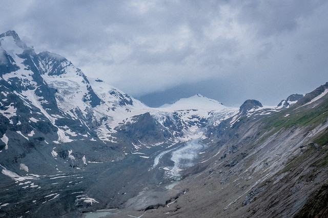 Glacier is dying