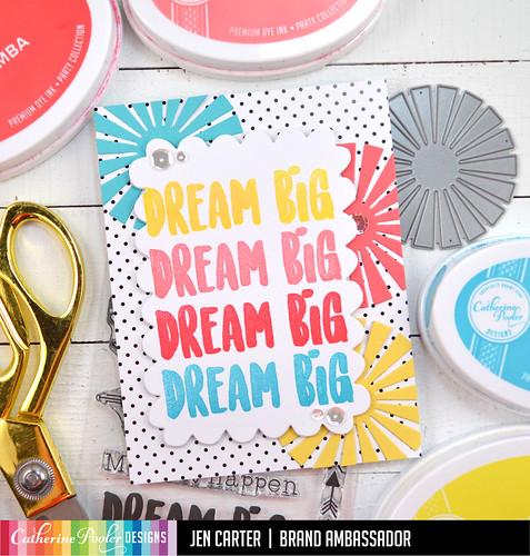 Jen Carter Dream Big Sunburst Sale