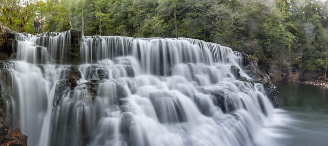Waterloo Falls, Spring Creek, Overton County, Tennessee 9