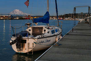Infinite Pursuit at the Thea Foss Waterway, Tacoma, WA