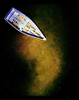 Argo Floating In Night Sky