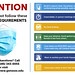 Wed, 07/01/2020 - 08:59 - A poster graphic highlighting the COVID-19 requirements that will greet GCC's employees on Monday, July 6, 2020