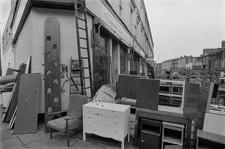 Furniture, Coldharbour Lane, Loughborough Junction, Lambeth, 1987 87-2p-25-positive_2400