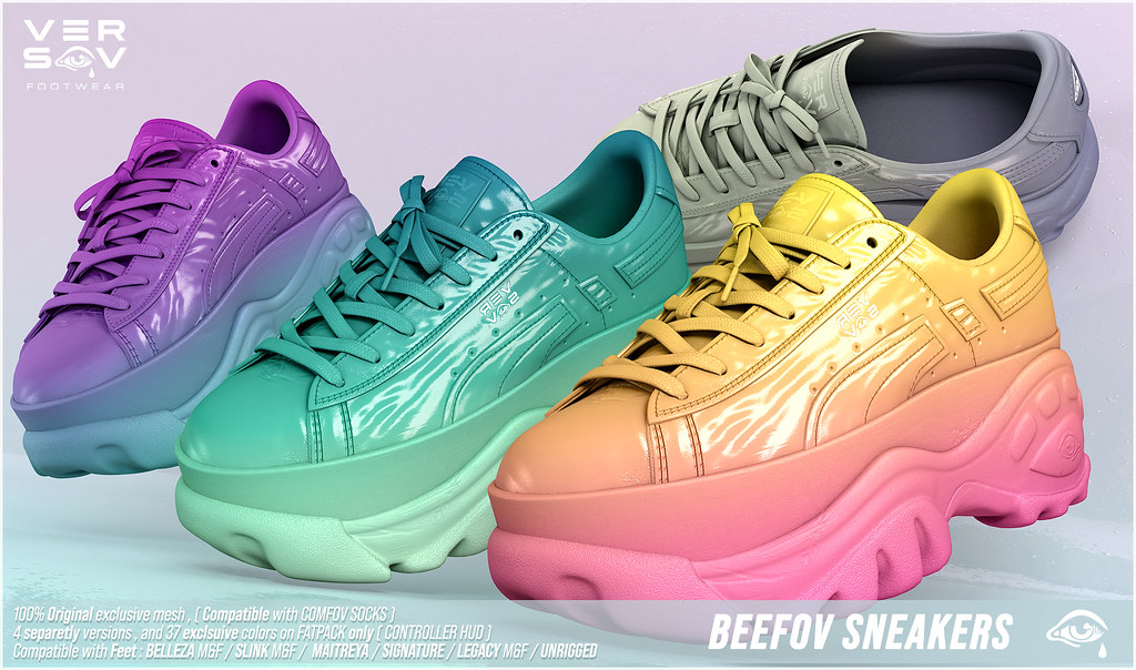 [ Versov // ] BEEFOV sneakers available at LEVEL