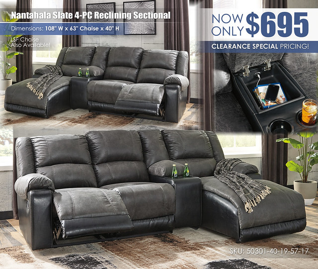 Nantahala Slate 4PC Sectional_50301-40-19-57-17