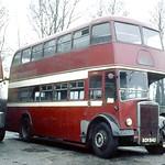 J A Dickson . Stoke Manderville , Buckinghamshire  . ECK945 . Stoke Manderville Garage yard . Saturday afternoon 23rd-January-1971 .