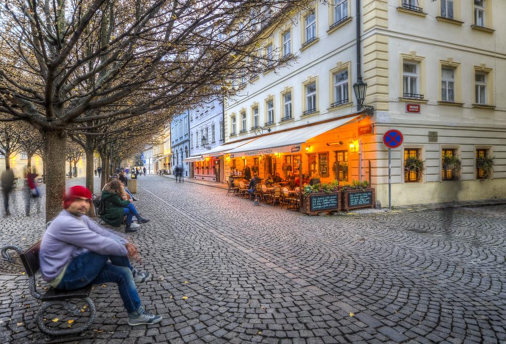 Benches of Prague