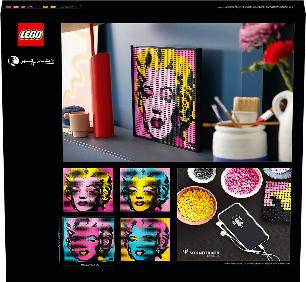 以樂高小圓點打造一幅可上牆的馬賽克藝術! LEGO 31197~31200 全新系列「LEGO Art」帶來星戰、漫威,與流行文化的四款新作!