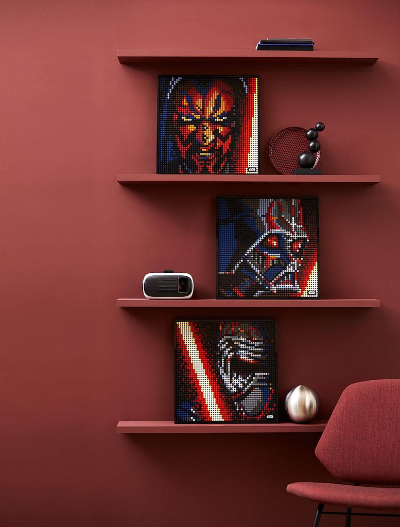 LEGO 31200 Star Wars The Sith 《星際大戰》原力黑暗面信徒頭像