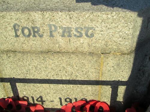 Seaham War Memorial, Great War