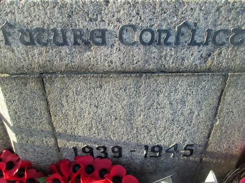 Seaham War Memorial, World War 2