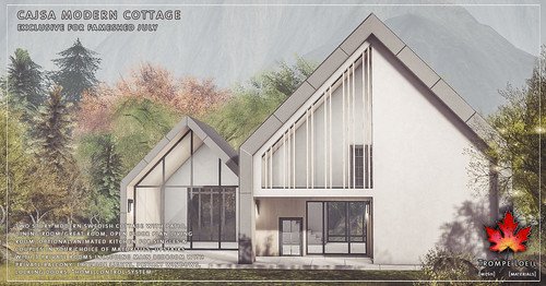 Trompe Loeil - Cajsa Modern Cottage for FaMESHed July | by TrompeLoeilSL