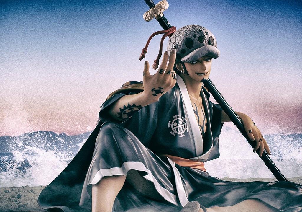 """充滿挑釁的笑容~Portrait.Of.Pirates《ONE PIECE 航海王》""""Warriors Alliance"""" 托拉法爾加·羅(トラファルガー・ロー)1/8比例 PVC 塗裝完成品"""