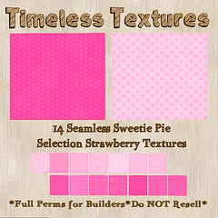 TT 14 Seamless Sweetie Pie Selection Strawberry Timeless Textures