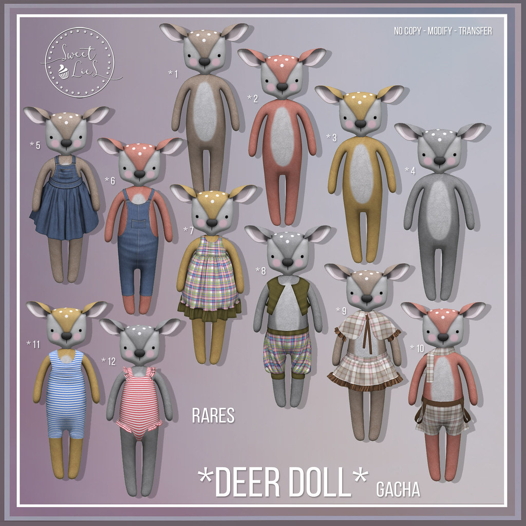 Deer Doll Gacha – Sweet Lies Original jpg