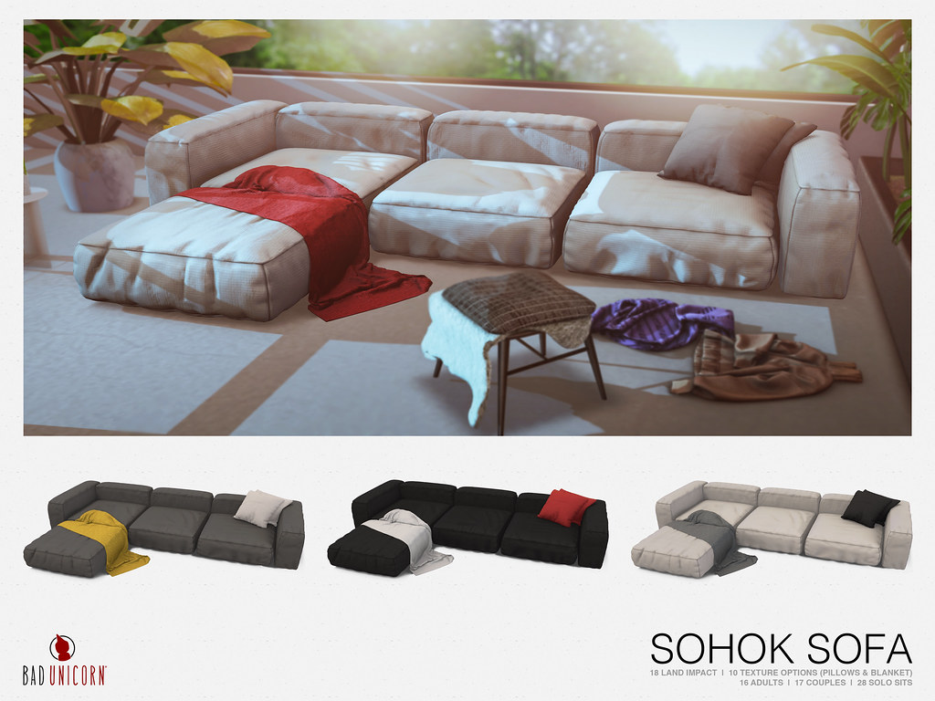 NEW! Sohok Sofa @ LEVEL