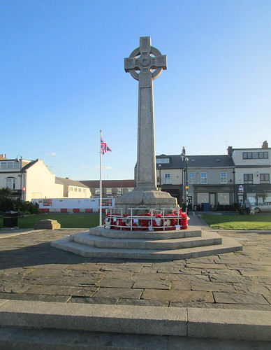 Seaham War Memorial From Seaward