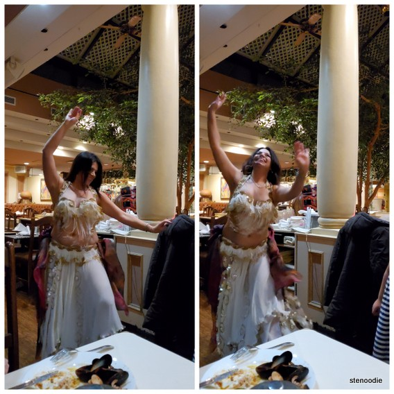 Jerusalem Restaurant belly dancing performance