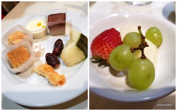 Jerusalem Restaurant buffet desserts