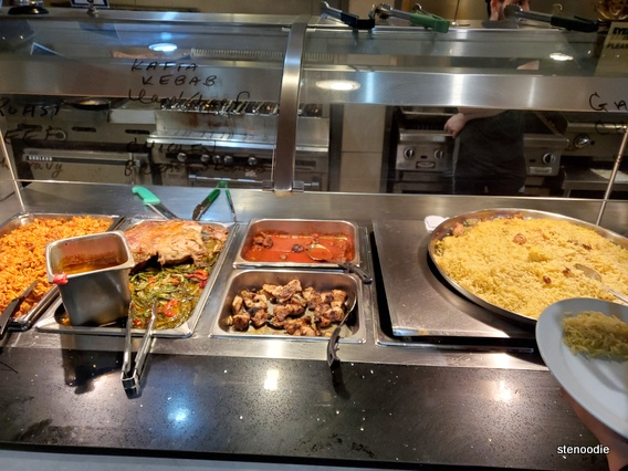 Jerusalem Restaurant buffet selections