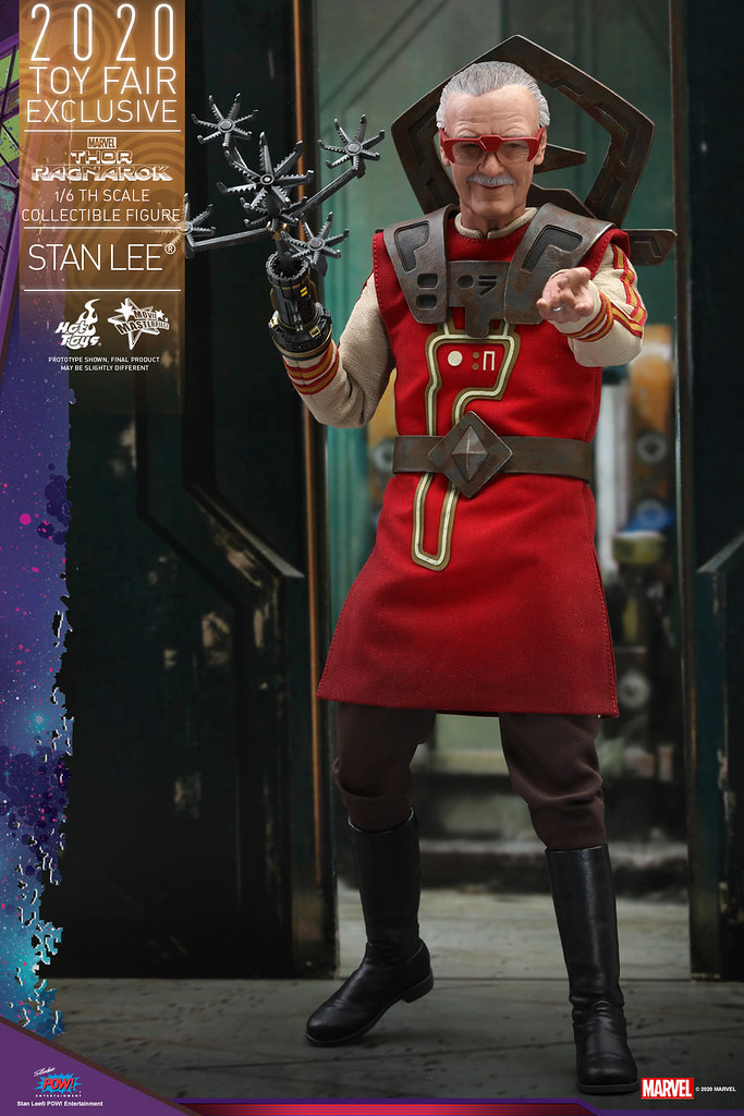 讓雷神無助求饒的薩卡星最強理髮師登場!! Hot Toys - MMS570 -《雷神索爾3:諸神黃昏》史丹·李(Stan Lee ®)1/6 比例人偶【香港動漫電玩節限定】