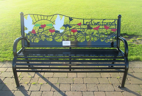 War Memorial Bench, Seaham
