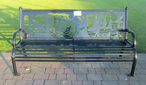 mining Memorial Bench, Seaham