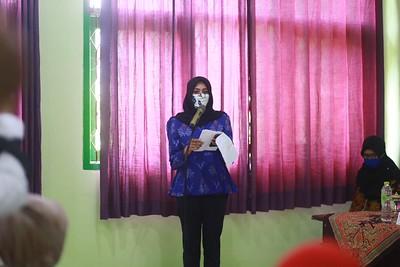 ibu walikota kediri Ferry Silviana Abu Bakar bunda fey