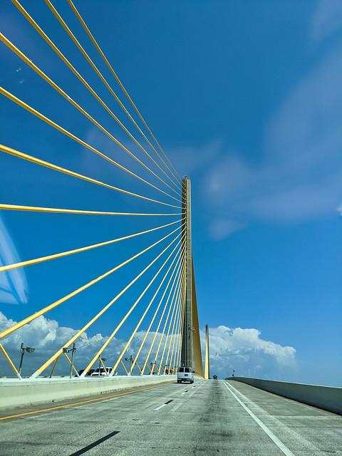 Sunshine Skyway Bridge - St. Petersburg, Florida