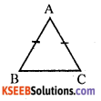 KSEEB Solutions for Class 8 Maths Chapter 6 Theorems on Triangles Additional Questions 8