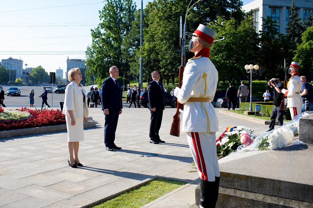 02.07.2020 Comemorarea 516 ani de la trecerea în neființă a  Domnitorului Ștefan cel Mare și Sfînt