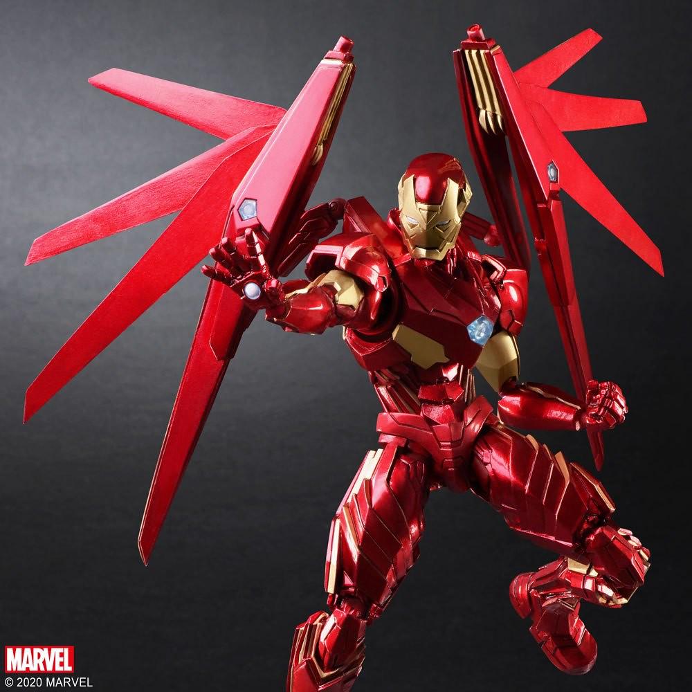豐富的層次展現全新魅力!BRING ARTS「MARVEL UNIVERSE VARIANT」野村哲也設計 變體版「鋼鐵人」可動人偶(Iron Man)