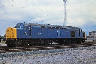 40 001, Carlisle Kingmoor yard, 05-08-85