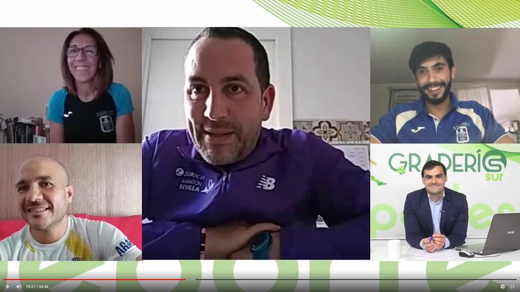 Graderío Sur: Tertulia atletismo coronavirus