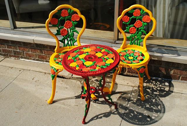 Outdoor Seating - Aurora, Illinois