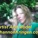 Artist and Model Shannon Kringen