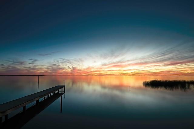Lake Albert sunset