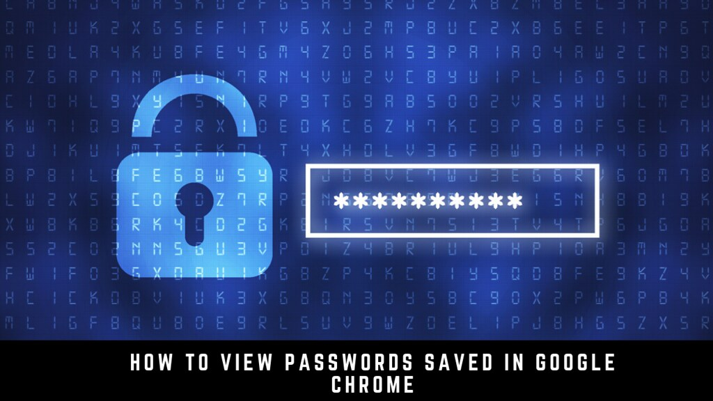 How to View Passwords Saved in Google Chrome