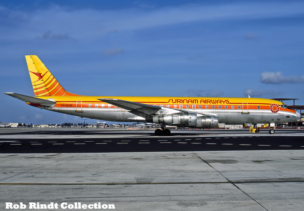 Surinam Airways DC-8-55 PH-DCW