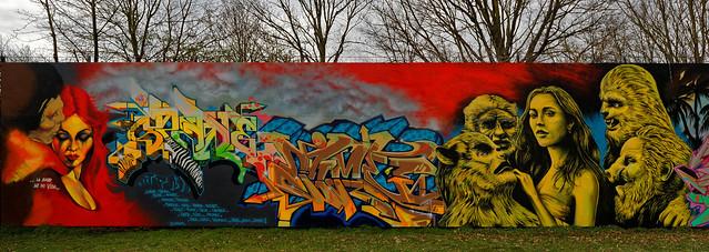 Graffiti 2020 in Karlsruhe