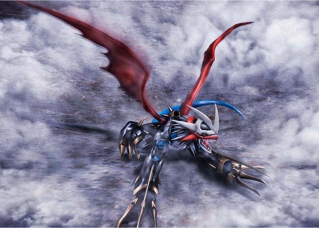 全高 30 公分魄力尺寸 Precious G.E.M.《數碼寶貝大冒險02》帝皇龍甲獸:龍形態(インペリアルドラモン:ドラゴンモード)