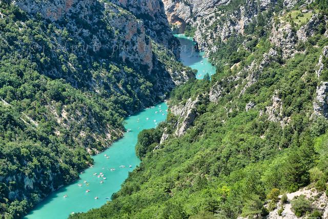 les gorges du Verdon dans les Alpes de haute provence -1L8A2788
