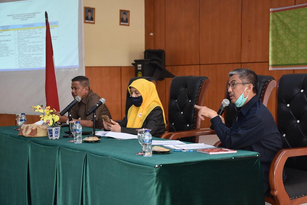 Rapat Pembagian Tugas Dan Tanggung Jawab Eviden APM PTA Medan | (4/8)