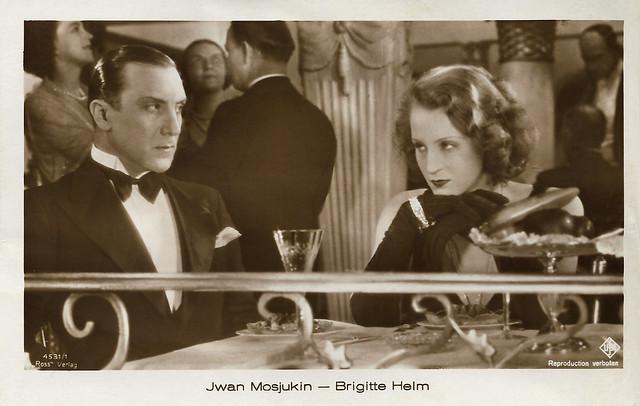 Ivan Mozzhukhin and Brigitte Helm in Manolescu - Der König der Hochstapler (1929)