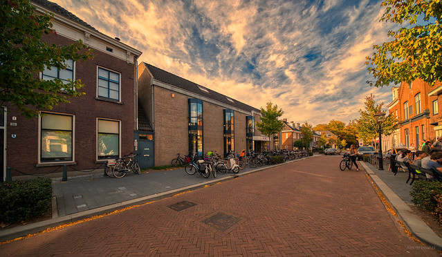 Voormalig onderkomen bibliotheek Vught aan de Dorpsstraat.