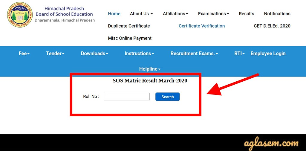 HP SOS 10th Result March 2020 (Out): Check HP Board SOS 10th Result March 2020