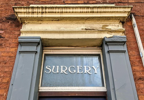 Looking at Preston doorways - Doctors Surgery | by Tony Worrall