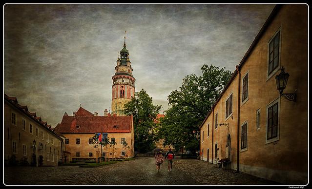 Český Krumlov_castle_Czechia